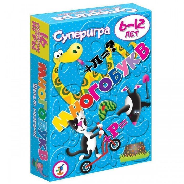 Раннее развитие Дрофа Карточные игры Суперигра Многобукв настольные игры дрофа карточные игры веришь или нет