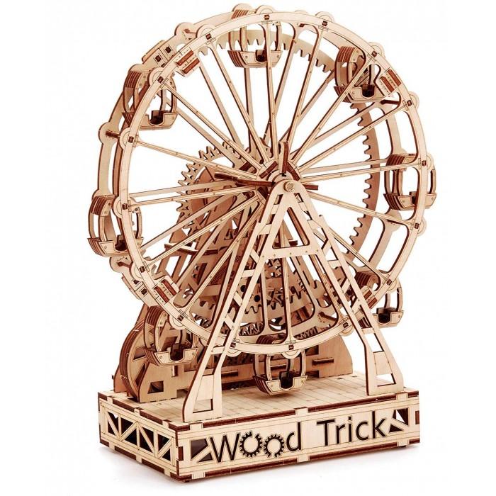 Купить Сборные модели, Wood Trick Механическая сборная модель Механическое колесо обозрения