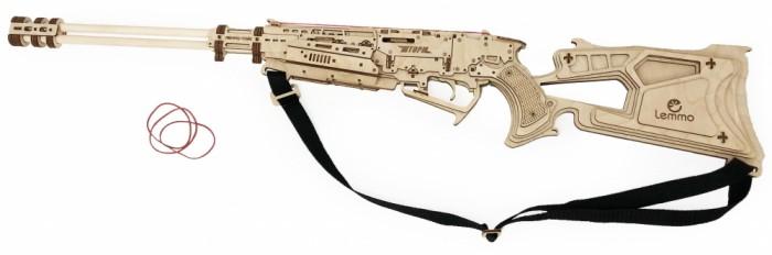 Купить Сборные модели, Lemmo Ружье Шторм резинкострел (123 детали)