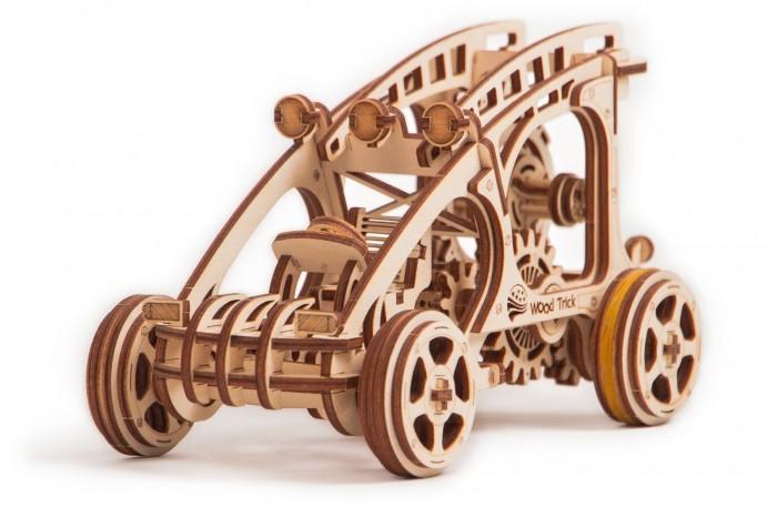 Купить Пазлы, Wood Trick Механический 3D-пазл Багги