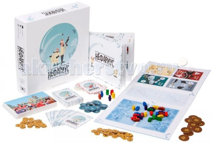 Настольные игры Magellan Настольная игра Нефариус настольные игры magellan magellan нефариус дополнение