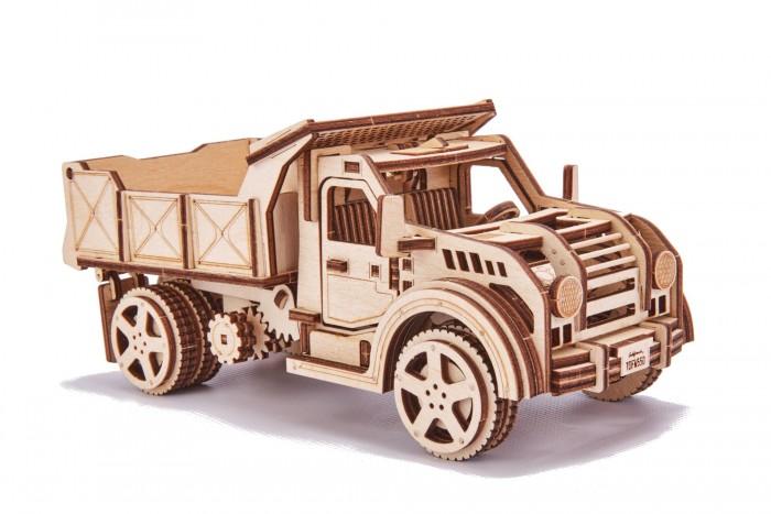 Купить Пазлы, Wood Trick Механический 3D-пазл Грузовик-Самосвал