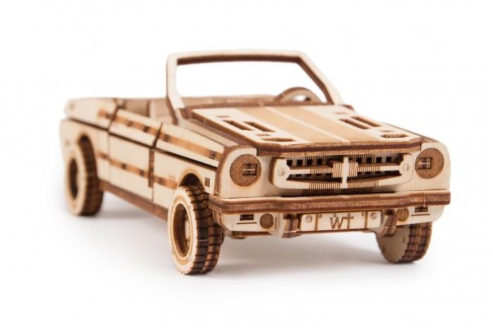 Пазлы Wood Trick Механический 3D-пазл Кабриолет wood trick механический 3d пазл из дерева wood trick набор пистолетов с мишенью