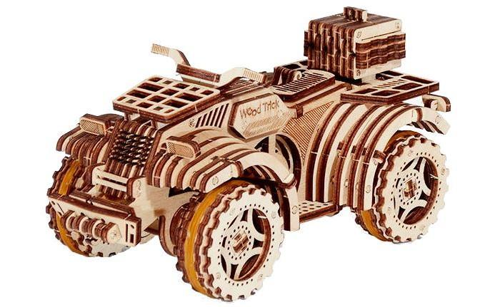 Wood Trick Механический 3D-пазл Квадроцикл от Wood Trick
