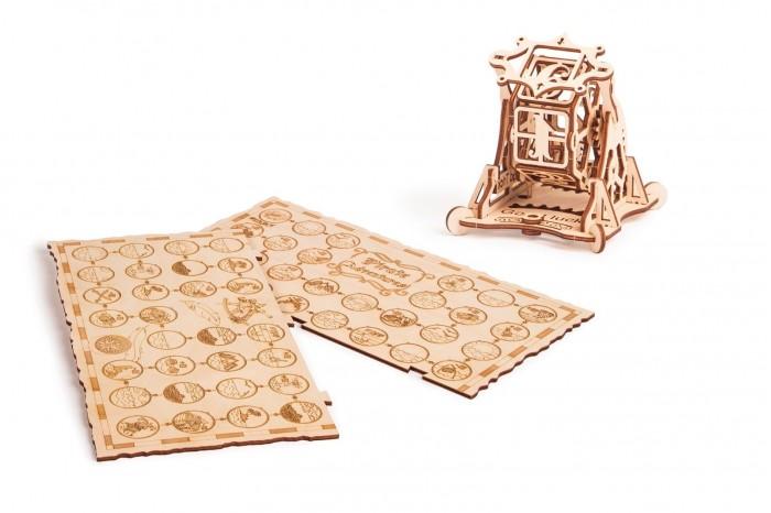 Купить Пазлы, Wood Trick Механический 3D-пазл Колесо Фортуны с настольной игрой