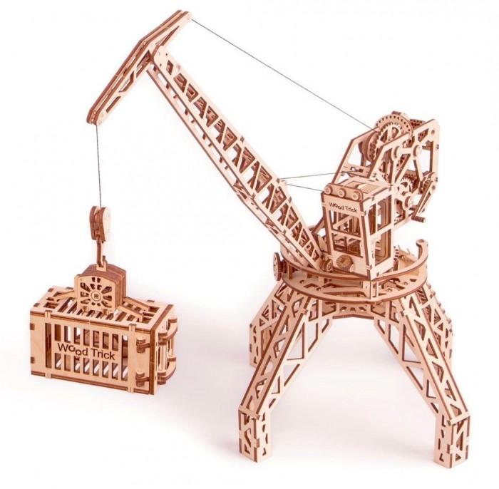 Купить Пазлы, Wood Trick Механический 3D-пазл Кран