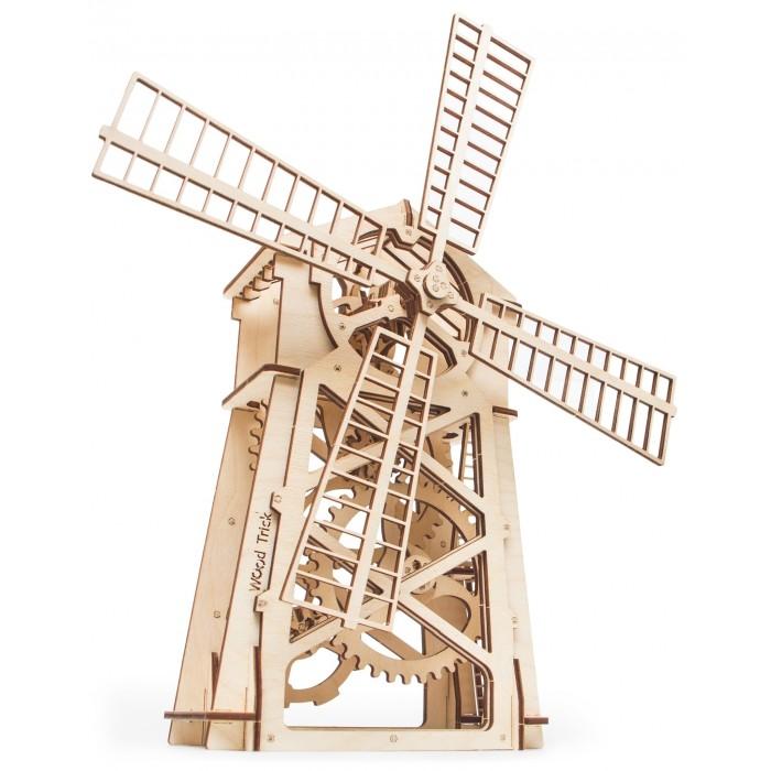 Купить Пазлы, Wood Trick Механический 3D-пазл Мельница