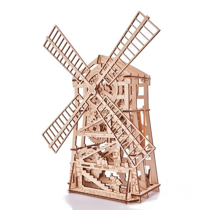 Пазлы, Wood Trick 3D-пазл Механическая мельница  - купить со скидкой