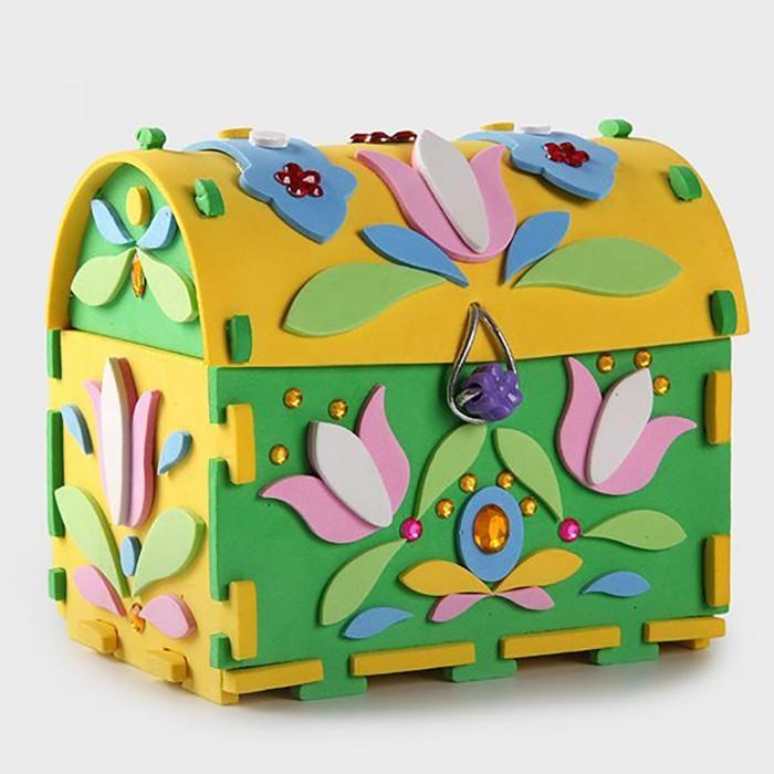 Наборы для творчества Дрофа Сундучок своими руками Цветы