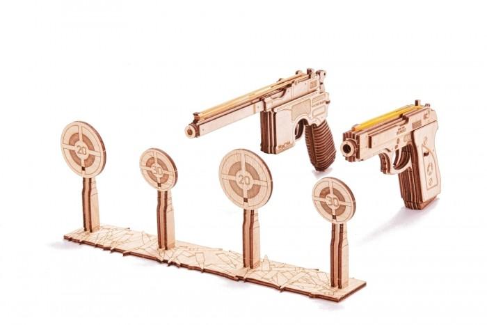 Купить Пазлы, Wood Trick Механический 3D-пазл Набор пистолетов