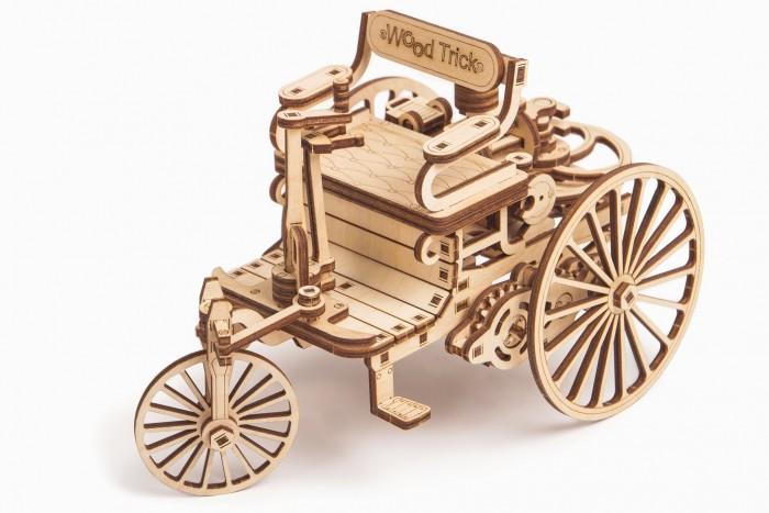 Купить Пазлы, Wood Trick Механический 3D-пазл Первый автомобиль