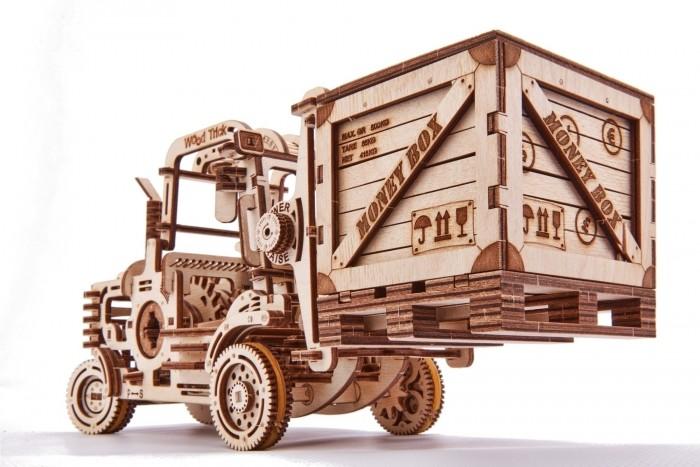 Купить Пазлы, Wood Trick Механический 3D-пазл Погрузчик