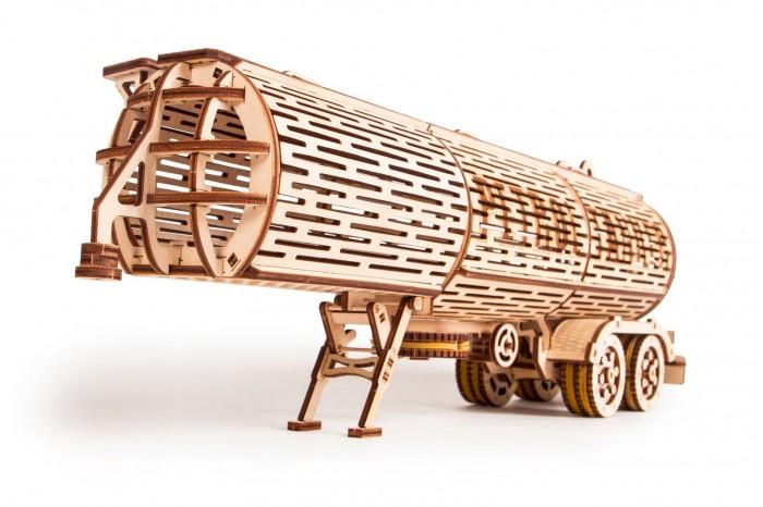 Пазлы Wood Trick Механический 3D-пазл Прицеп Цистерна
