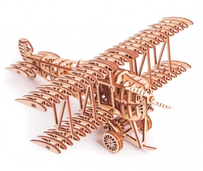 Купить Пазлы, Wood Trick Механический 3D-пазл Самолет