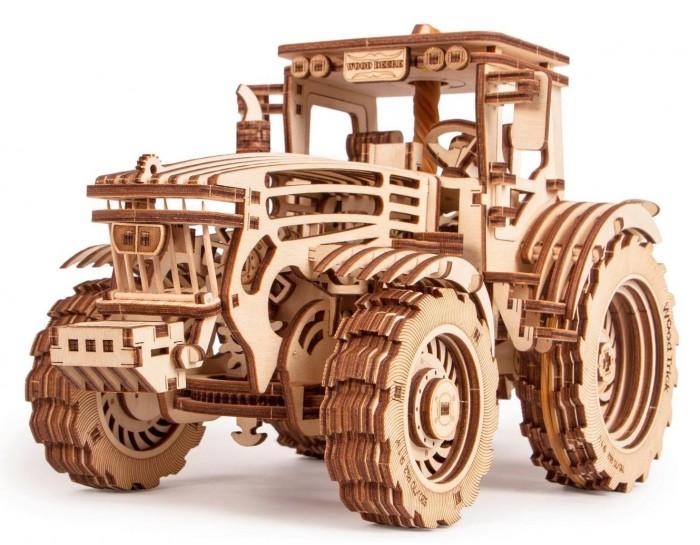 Купить Пазлы, Wood Trick Механический 3D-пазл Трактор