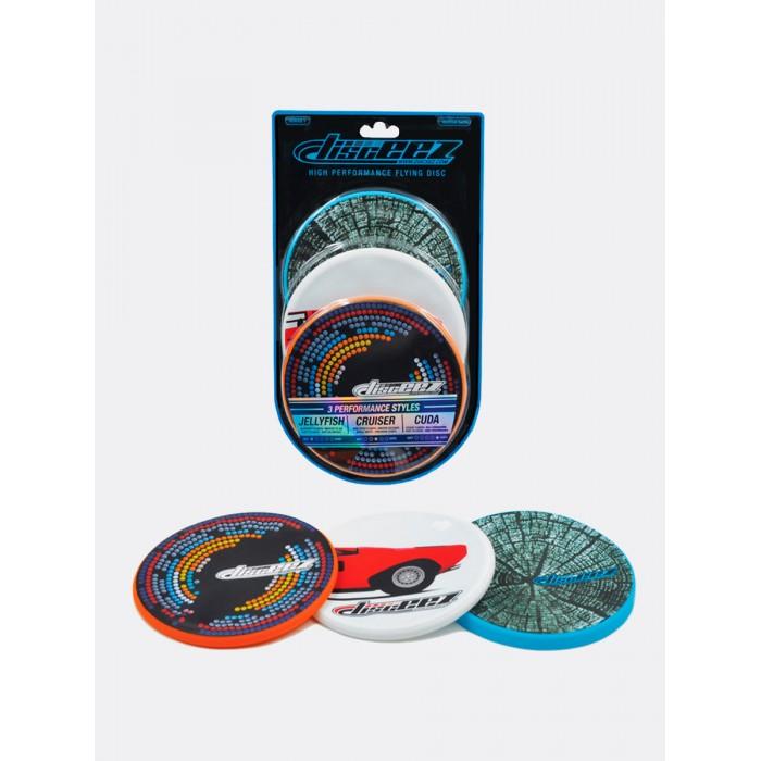Купить Disceez Набор летающих дисков для игры в помещении и на улице 3 шт. 360417 в интернет магазине. Цены, фото, описания, характеристики, отзывы, обзоры