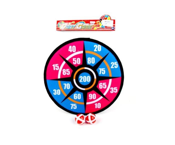 Спортивный инвентарь Наша Игрушка Дартс 28 см и 2 шарика спортивная игра наша игрушка дартс bb1701