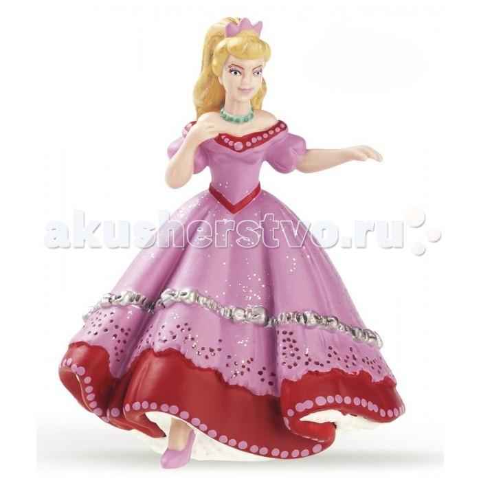 Игровые фигурки Papo Игровая реалистичная фигурка Танцующая розовая принцесса игровые фигурки papo игровая фигурка принцесса на коньках