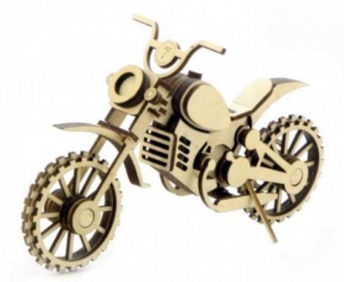 Сборные модели Lemmo Мотоцикл Кросс (75 деталей) конструктор lemmo мц 1 мотоцикл 33