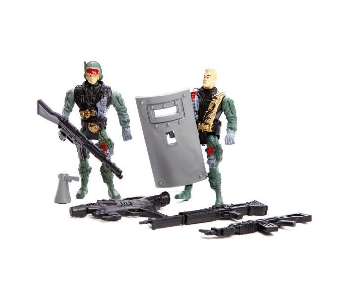 Игровые наборы Наша Игрушка Набор Военный солдаты с оружием