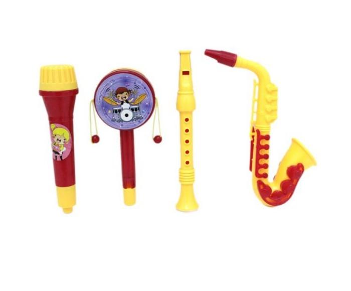 Музыкальные инструменты Наша Игрушка набор с саксофоном (4 предмета) набор садовых инструментов ingreen цвет салатовый 4 предмета