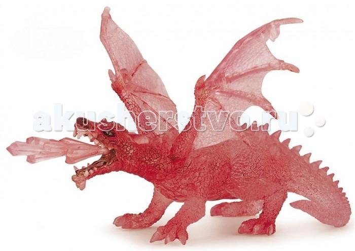 Игровые фигурки Papo Игровая реалистичная фигурка Рубиновый дракон игровые фигурки papo игровая реалистичная фигурка цератозавр