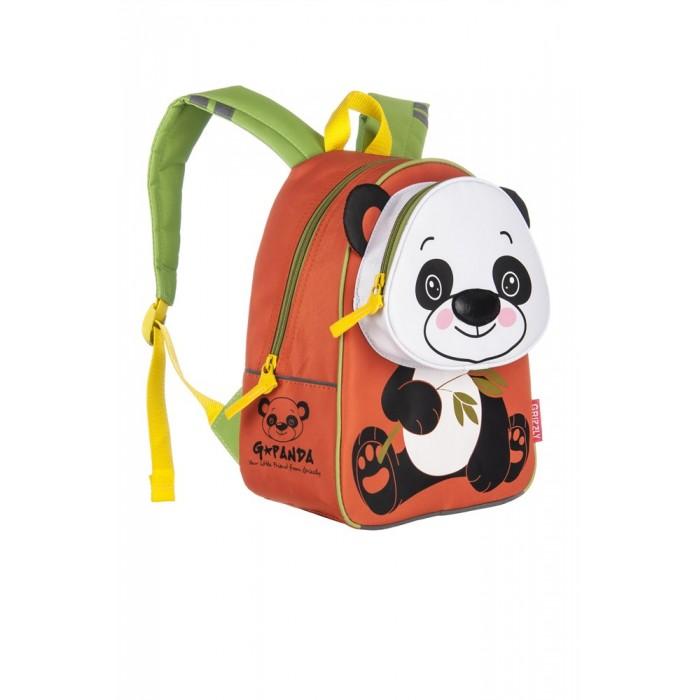 Школьные рюкзаки Grizzly Рюкзак детский Панда