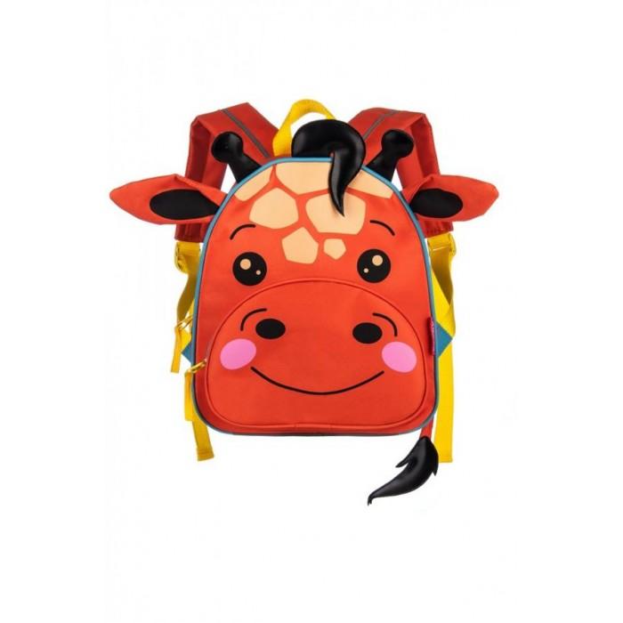 Школьные рюкзаки Grizzly Рюкзак детский Жираф