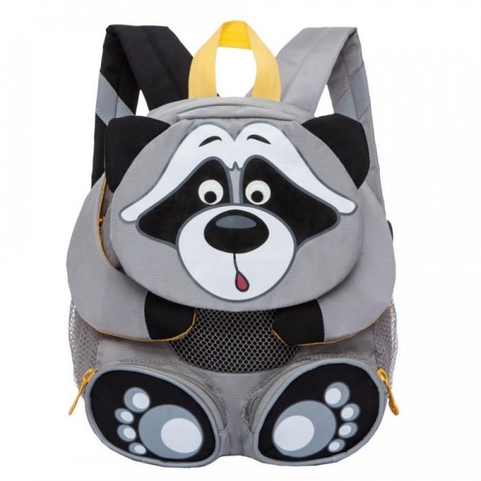 Школьные рюкзаки Grizzly Рюкзак детский Енот