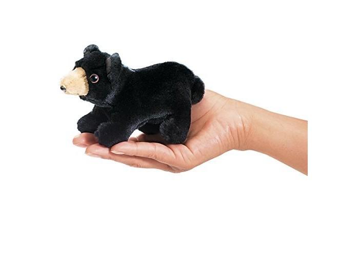 цена на Ролевые игры Folkmanis Мягкая игрушка на палец Медведь