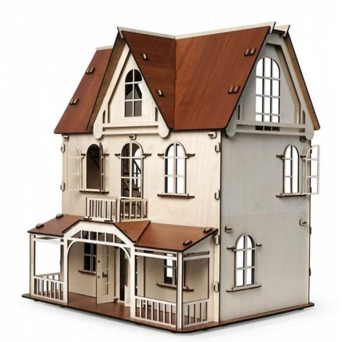 Купить Кукольные домики и мебель, Lemmo Конструктор Кукольный дом Венеция (172 детали)