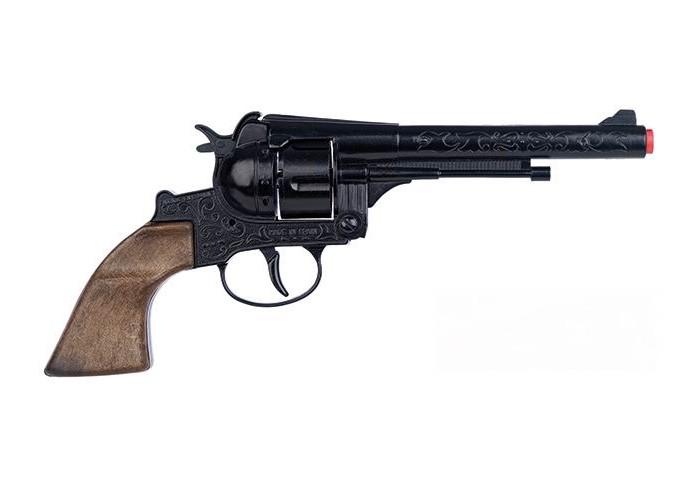Игрушечное оружие Gonher Игрушечный Ковбойский револьвер 122/6 игрушечное оружие gonher игрушка набор ковбой револьвер кобура 150 0