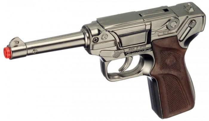 Игрушечное оружие Gonher Игрушечный Пистолет Police 124/0 игрушечное оружие gonher игрушка набор ковбой револьвер кобура 150 0