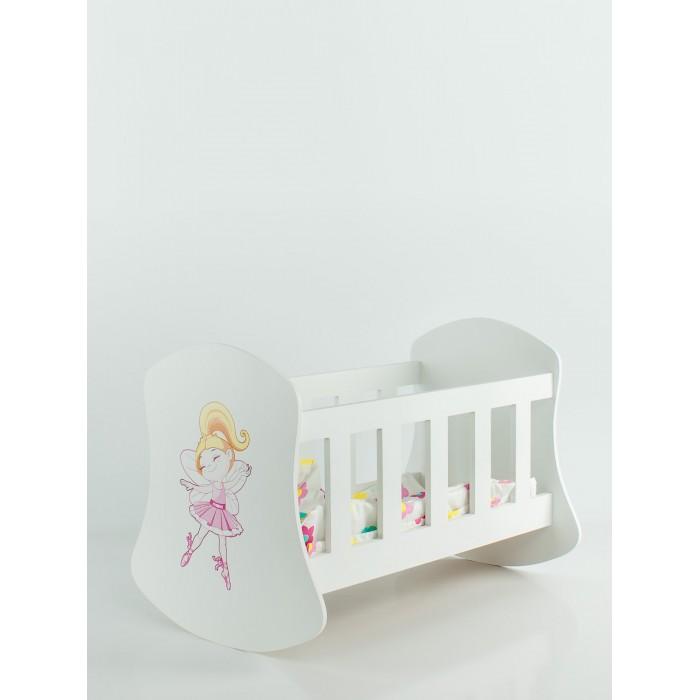 Кроватка для куклы Коняша Люлька Балерина