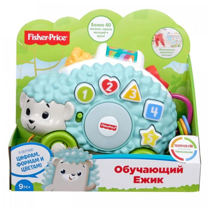 Купить Электронные игрушки, Fisher Price Музыкальный Обучающий Ежик