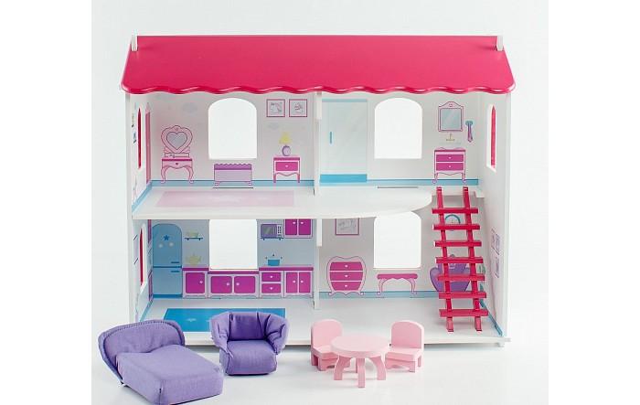 Кукольные домики и мебель Коняша Дом Карамель с мебелью и интерьером