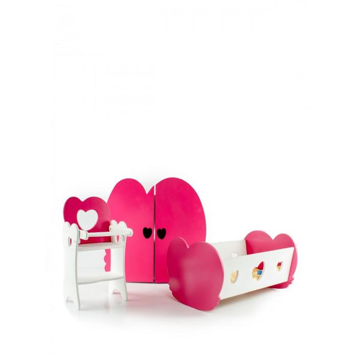 Купить Кукольные домики и мебель, Коняша Набор кукольной мебели Валентинка
