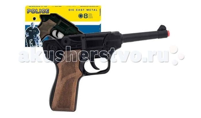 Игрушечное оружие Gonher Игрушечный Пистолет Police 124/6
