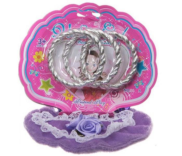 Сумки для детей Наша Игрушка Сумочка с браслетом набор для девочки тигренок с браслетом и подвеской crystal surprise