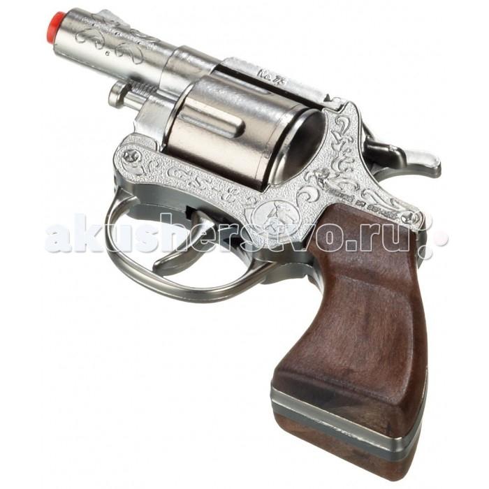 Игрушечное оружие Gonher Игрушка Револьвер Police 73/0 сигнальный револьвер блеф наган
