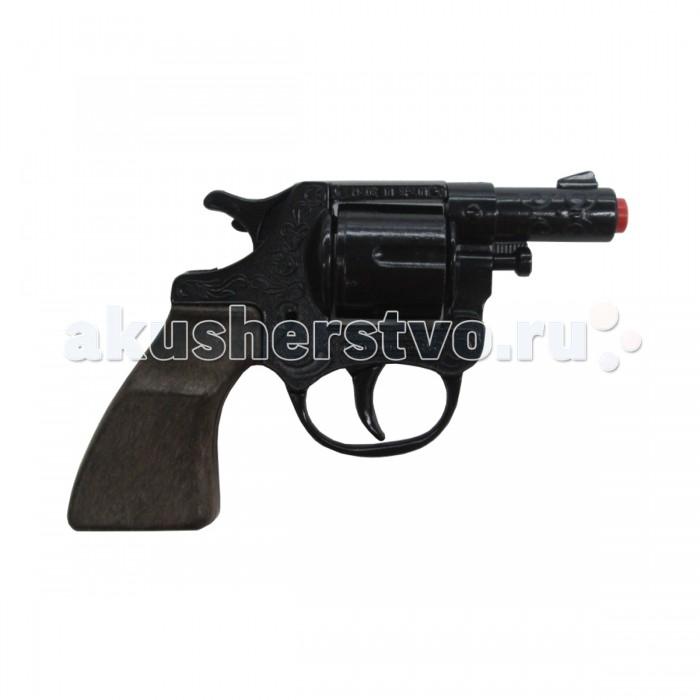 Игрушечное оружие Gonher Игрушка Револьвер Police 73/6 игрушечное оружие gonher игрушка набор ковбой револьвер кобура 150 0
