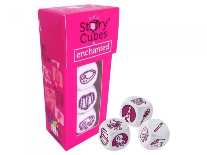 Настольные игры Rorys Story Cubes Кубики Историй Дополнительный набор Сказки story cubes кубики историй животные