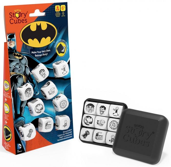 Настольные игры Rorys Story Cubes Кубики Историй Бэтмен игра настольная обучающая rory s story cubes кубики историй космос