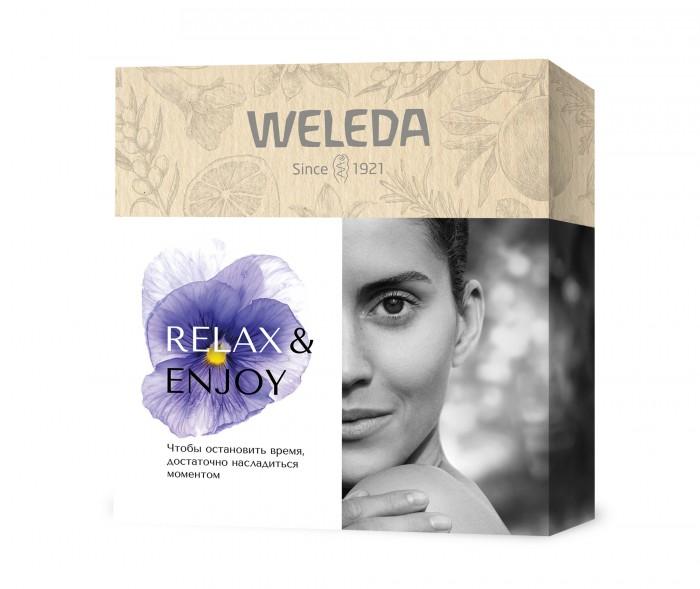 Косметика для мамы Weleda Подарочный набор Relax enjoy крем для рук weleda облепиховый питательный 50 мл