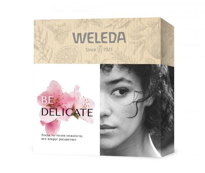 Косметика для мамы Weleda Подарочный набор Be delicate