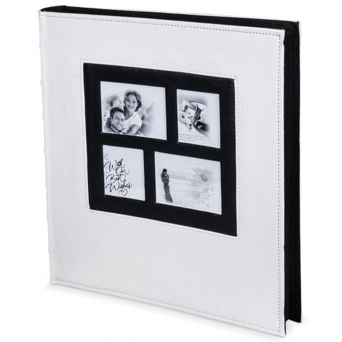 Фото - Фотоальбомы и рамки Brauberg Фотоальбом на 500 фотографий 10х15 см 390713 фотоальбомы и рамки veld co фотоальбом 100 фотографий 15х21 см 4682