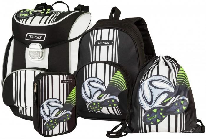 Купить Школьные рюкзаки, Target Collection Ранец Football Blatte 4 в 1