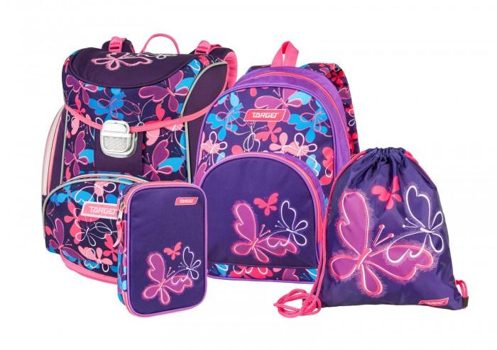 Школьные рюкзаки, Target Collection Ранец Butterfly Swarm 4 в 1  - купить со скидкой