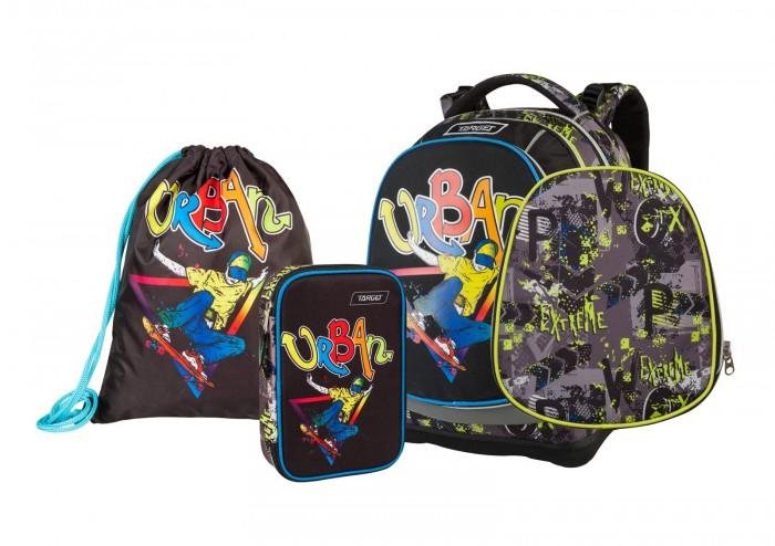 Купить Школьные рюкзаки, Target Collection Рюкзак супер лёгкий Urban Jump 3 в 1