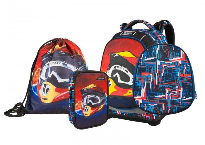 Купить Школьные рюкзаки, Target Collection Рюкзак супер лёгкий X Helmet 3 в 1